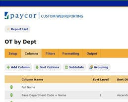 Paycor Unveils Custom Web Reporting Payroll and HR Software