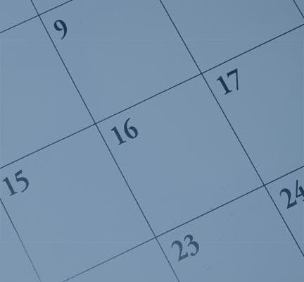 Important December Dates