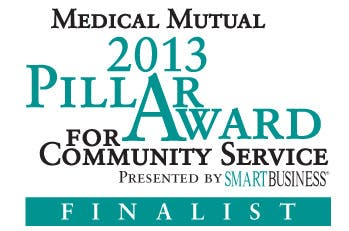 Paycor Named Finalist for the Pillar Award for Community Service