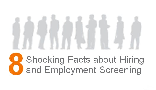 8 Shocking Facts about Hiring & Employment Screening