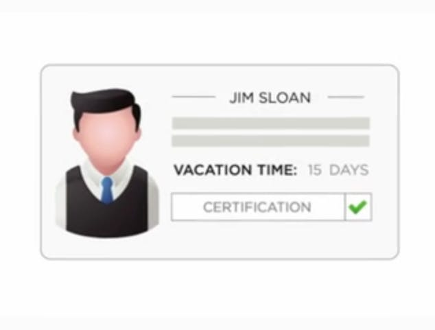Employer Designated Vacation Time Usage