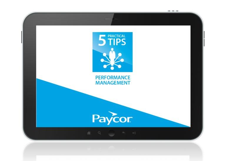 5 Practical Performance Management Tips Webinar