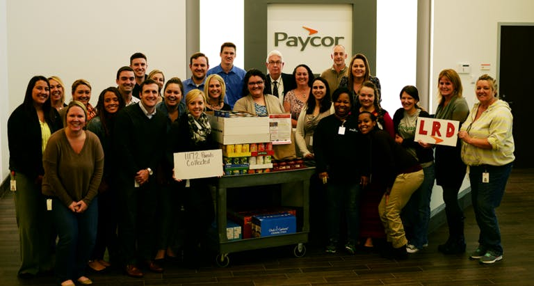 A Truck Full of Love from Paycor Community Partners