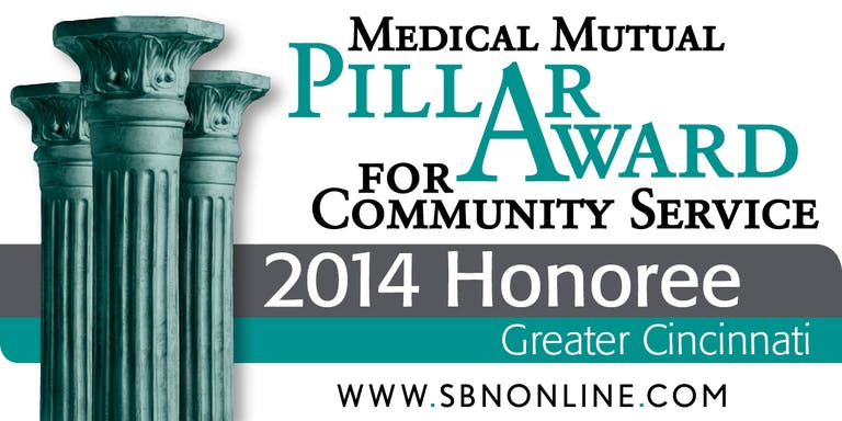 Paycor's Community Partners Program Wins Pillar Award for Community Service