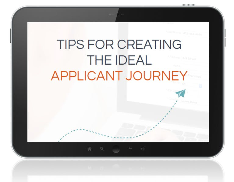 How to Create the Ideal Applicant Journey