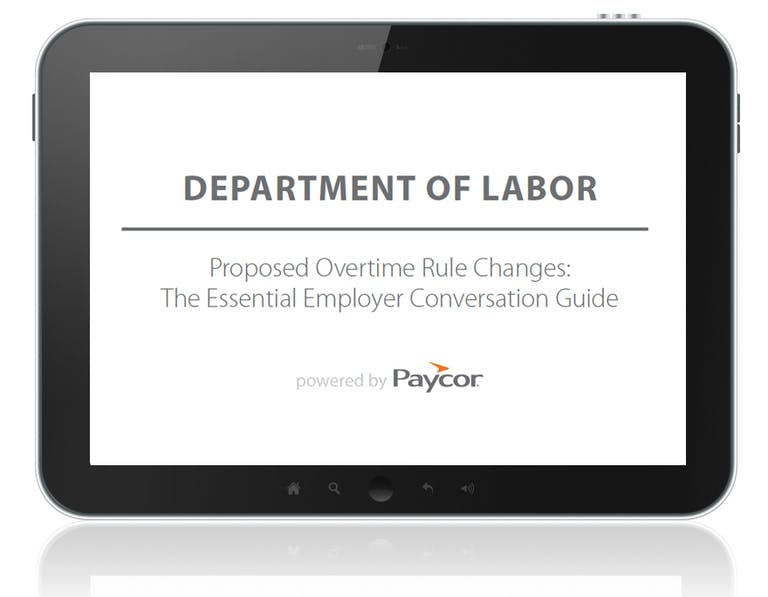 Overtime Rule Changes: The Essential Employer Conversation Guide
