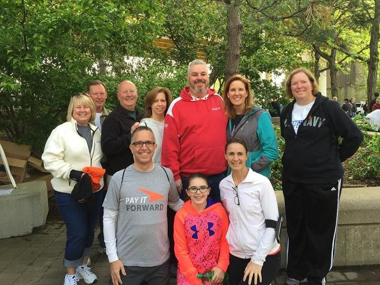 Team Paycor Raises Over $2,000 for Walk MS Cincinnati 2016