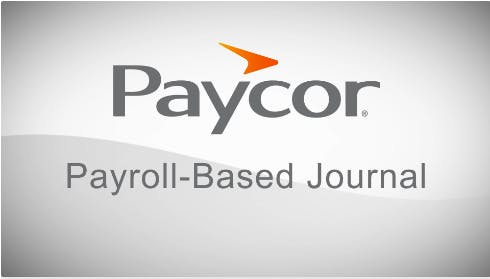 Payroll Based Journals - What Are the Reporting Requirements?