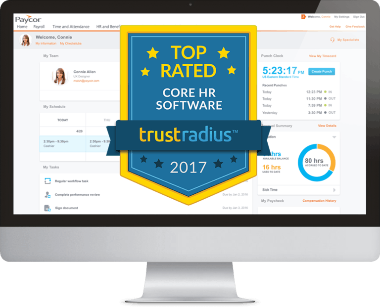 Paycor Named a 2017 Top Rated Core HR Software Platform by Software Users on TrustRadius for the Second Consecutive Year