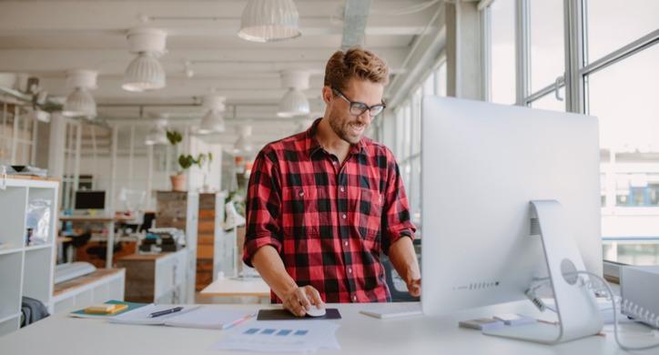 productive-employee-working