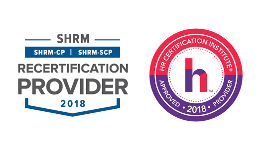 HR certification logos
