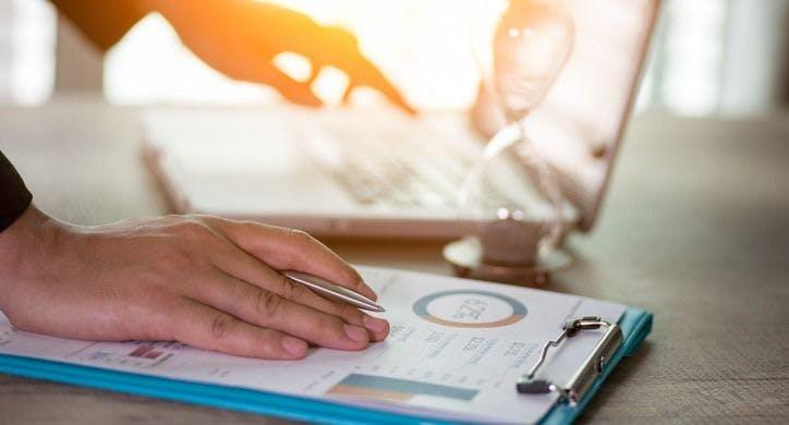 reviewing payroll data