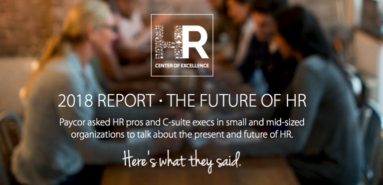 2018 Report - The Future of HR