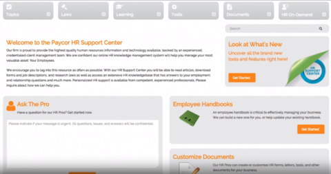 HR Support Center Overview Video