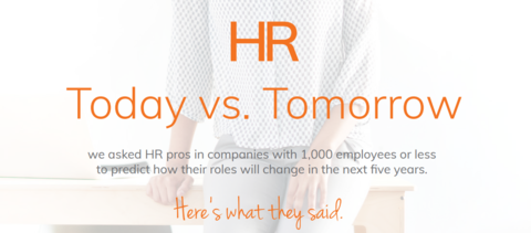 [INFOGRAPHIC] HR Today vs. Tomorrow