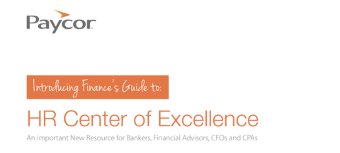 Finance's Guide to the HR Center of Excellence