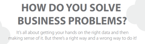 [INFOGRAPHIC] How Do You Solve Business Problems?