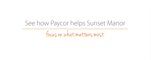Client Page: Sunset Manor - Reporting