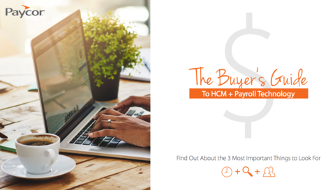 Buyer's Guide to HCM and Payroll Technology