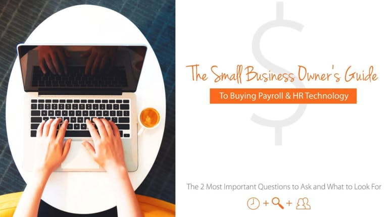Small Business Owner S Guide To Buying Payroll And Hr Technology