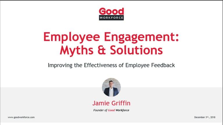 Webinar: 5 Employee Engagement Myths & Solutions