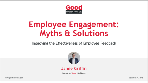 Webinar: 5 Employee Engagement Myths & Solutions