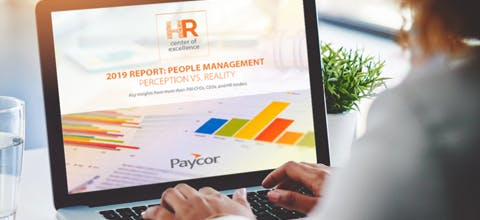 Webinar: 2019 People Management Report - Perception Vs. Reality