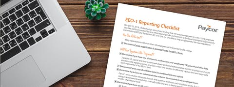 EEO-1 Report Checklist