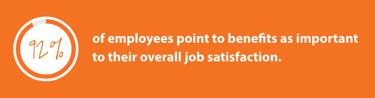 employee benefits job satisfaction statistic