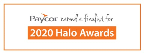 Paycor's Community Partners Program Named an Engage for Good 2020 Halo Award Finalist