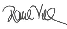 Raul Villar Signature