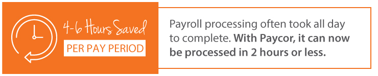 Save time on payroll processing