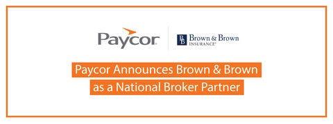 Brown & Brown Insurance Joins Paycor's National Broker Partner Program