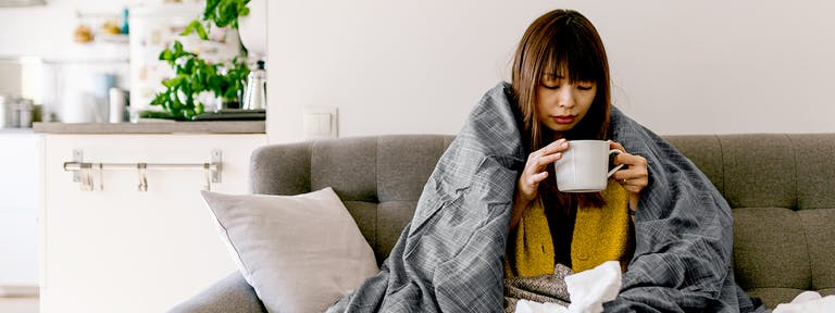 woman on sick leave in new york